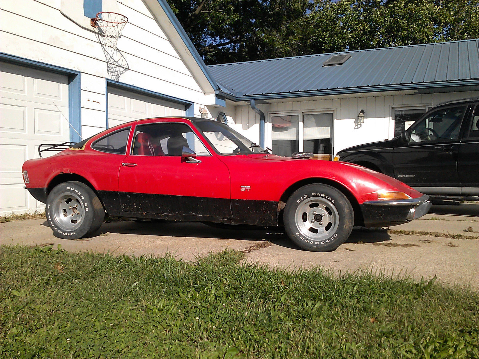 1970 Opel Gt Coupe Chevy 350 Motor Classic Opel Gt