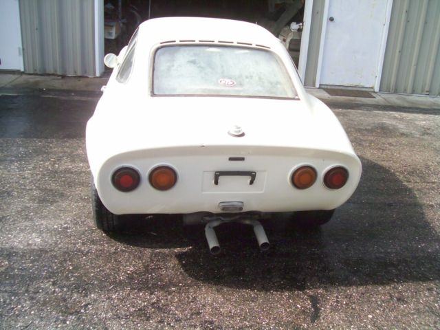 1970 Opel Gt Needs Work Dry Storage Since 1991