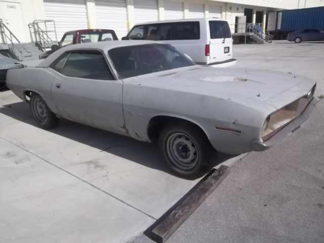 1970 plymouth barracuda awesome project car classic plymouth barracuda 1970 for sale. Black Bedroom Furniture Sets. Home Design Ideas