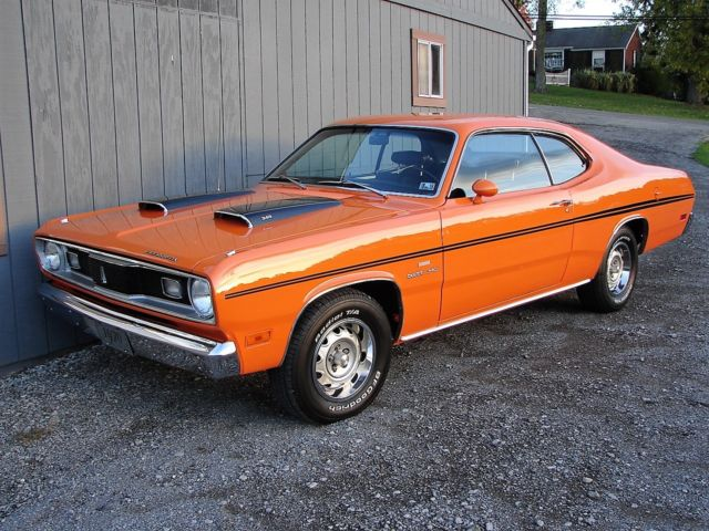 1970 plymouth duster factory 340 h code 39 s match real vitamin c car show ready classic. Black Bedroom Furniture Sets. Home Design Ideas