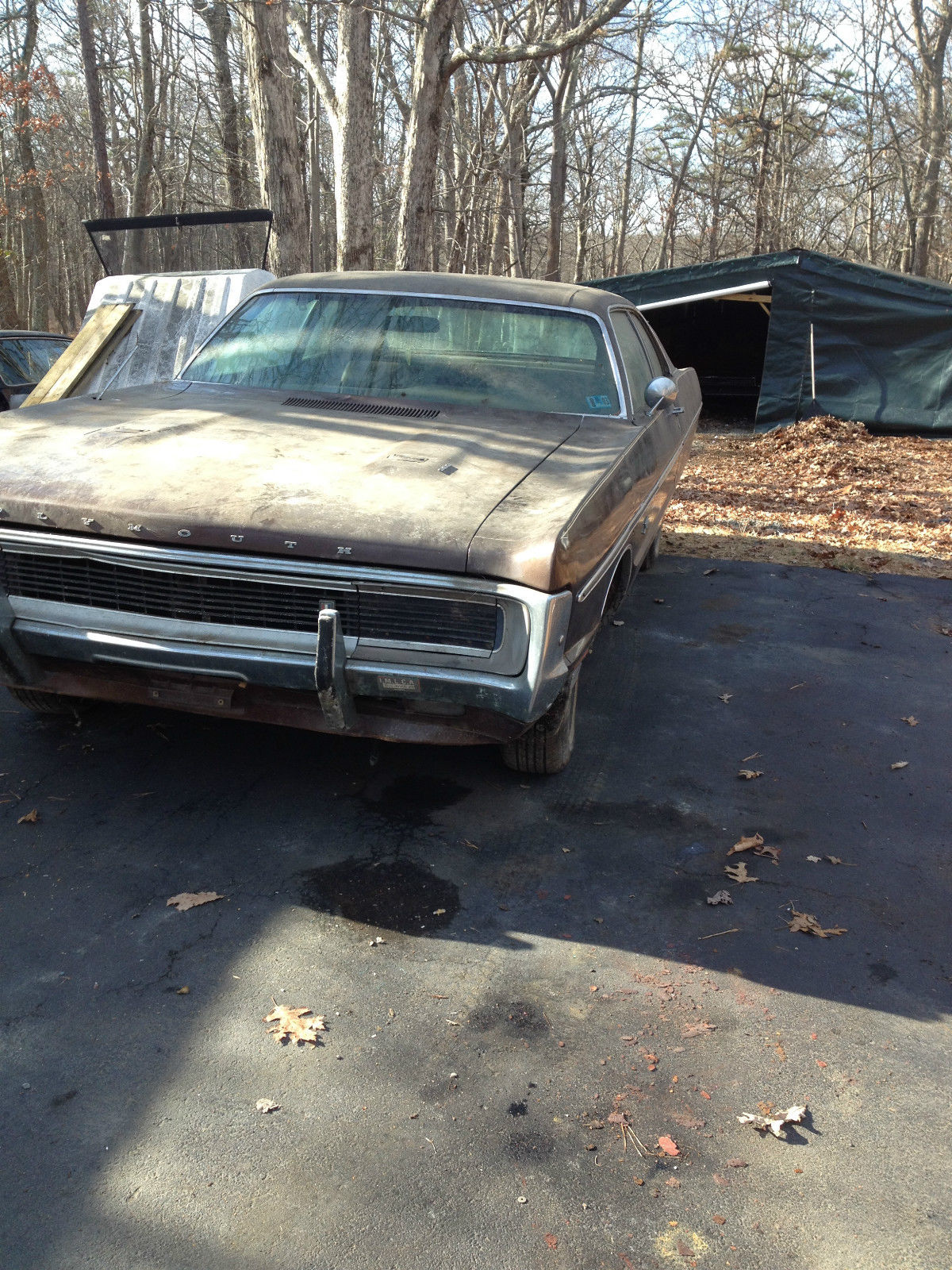 1970 plymouth fury gran coupe 6 3l for parts or restoration only classic plymouth fury 1970 - 1970 plymouth fury gran coupe ...