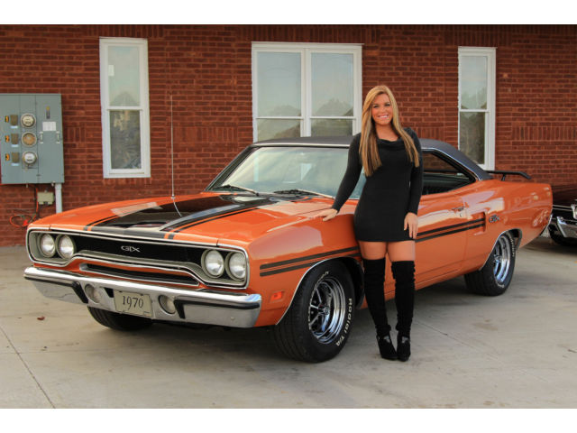 1970 Plymouth GTX #s Matching 440 Power Steering Automatic ...