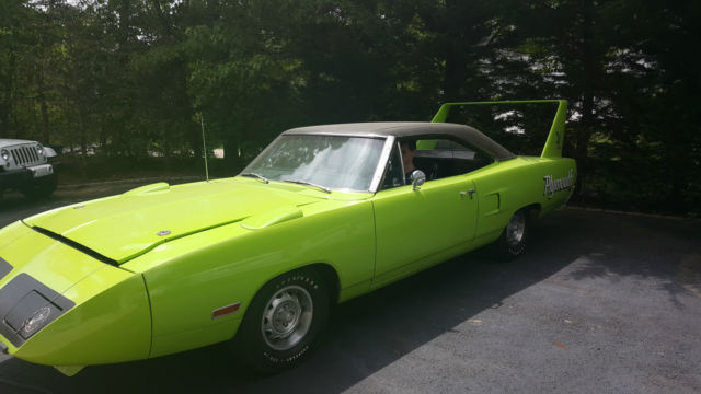 1970 Plymouth Superbird Quot Last One Built Quot All Original 57k