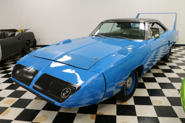 1970 Plymouth Superbird Petty Blue Survivor Classic