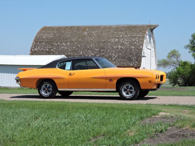 1970 pontiac gto judge ram air iv 4 speed orbit orange