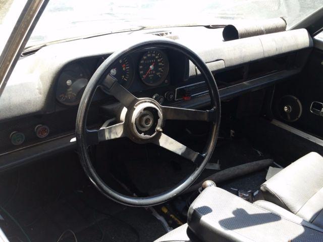1970 Porsche 914 Chalon Edition Rare California Widebody