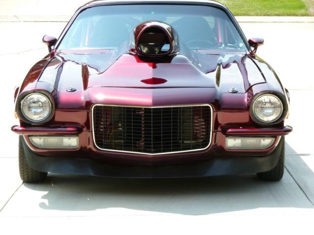 1970 Pro Street Camaro Resto Mod Classic Chevrolet