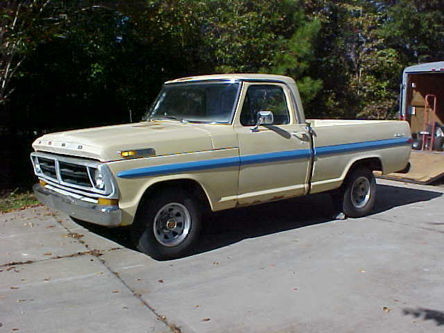 1970 Shortbed Ford Pickup Truck Classic Ford F 100 1970