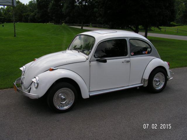 1970 Volkswagen Beetle Classic Custom With Rare Sunroof