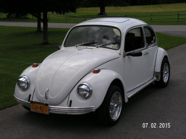 1970 Volkswagen Beetle Classic Custom with Rare Sunroof Option - Classic Volkswagen Beetle ...