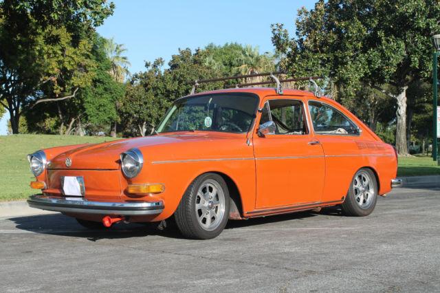 1970 Volkswagen Fastback Base 1 9 Liter