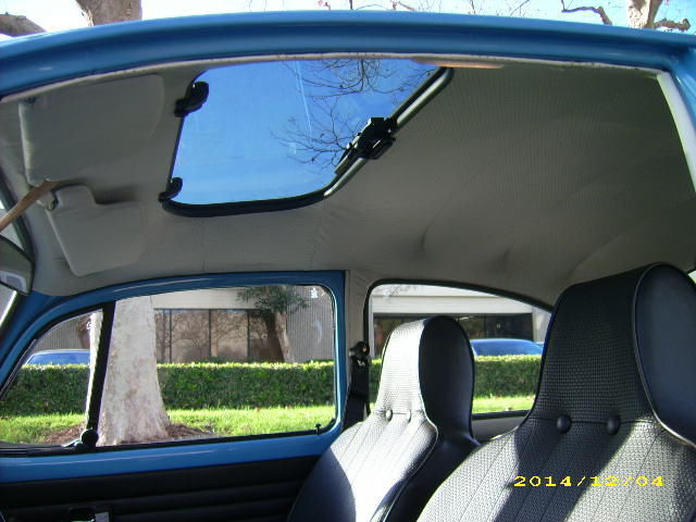 1970 Vw Beetle Fresh Restoration Custom Paint Sunroof