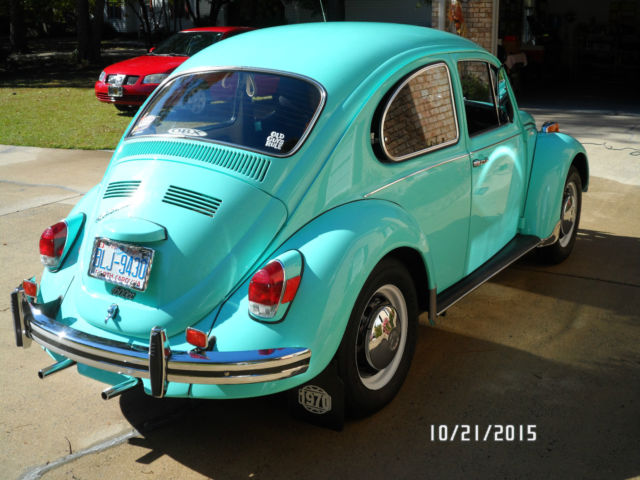 1970 VW Beetle, Rare Automatic, Seafoam Green in very good condition - Classic Volkswagen Beetle ...