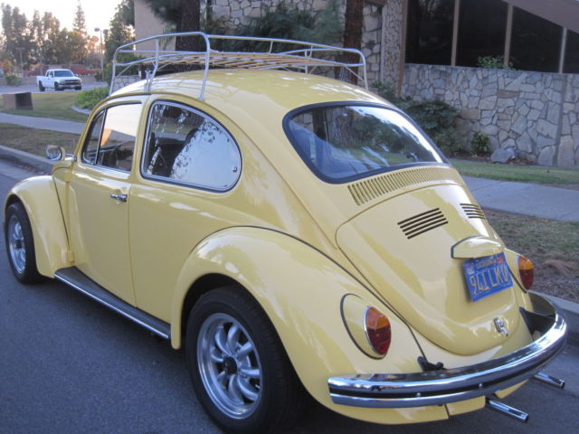 1970 Vw Bug With Sunroof Classic Volkswagen Beetle
