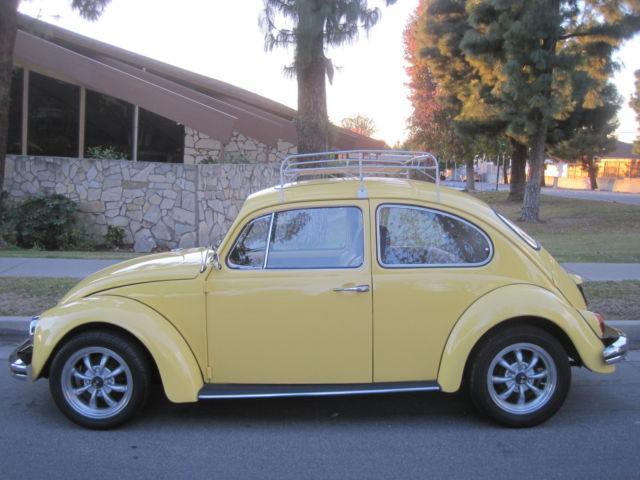 1970 Vw Bug With Sunroof Classic Volkswagen Beetle