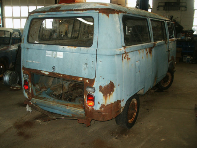 1970 Vw Bus Restoration Project Volkswagen Bus Micro