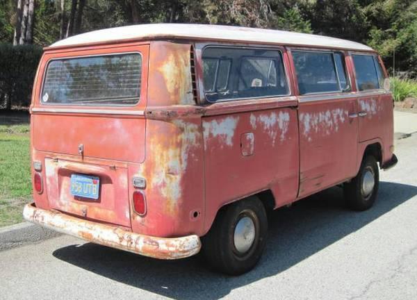 1970 VW Deluxe Bus- Original Paint- Patina- Barn Find- Ca Survivor- not Porsche - Classic ...