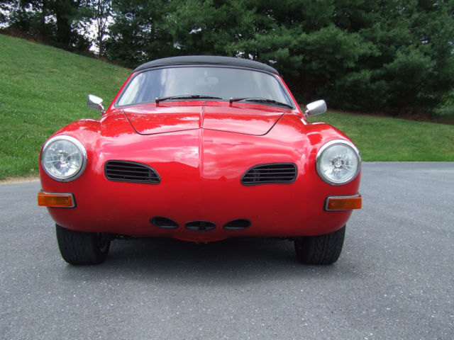 1970 Vw Karmann Ghia With 350hp Supercharged 13b Rotary 4 Speed Engine Pro Tour Classic