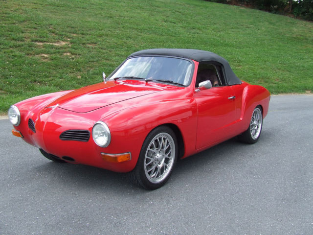 1970 Vw Karmann Ghia With 350hp Supercharged 13b Rotary 4