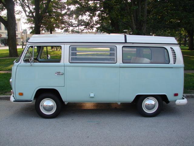 Box Jumps For Sale >> 1970 VW Westfalia Campmobile Van Bus Camper Pop up Roof Vanagon NW Indiana - Classic Volkswagen ...