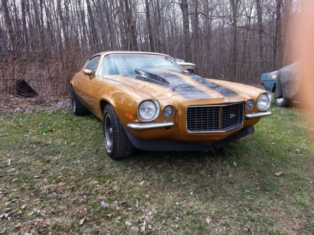 1970 Z28 Camaro RS Chevy Project Rare Muscle Car
