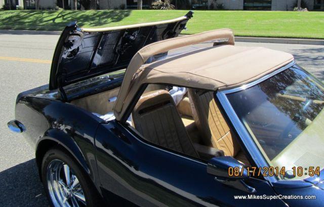 1971 69 frame off restomod c3 corvette roadster