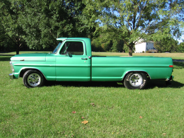 1971 71 ford f100 f 100 pickup pick up truck drag truck for Who picks up used motor oil