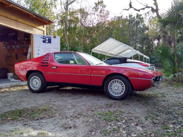 1971 Alfa Romeo Montreal Only 16 500 Miles  Very Early