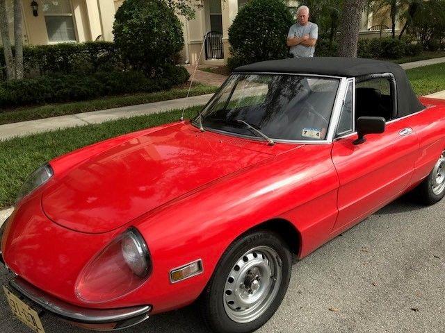 1971 Alpha Romeo Spider Classic Alfa Romeo Spider 1971
