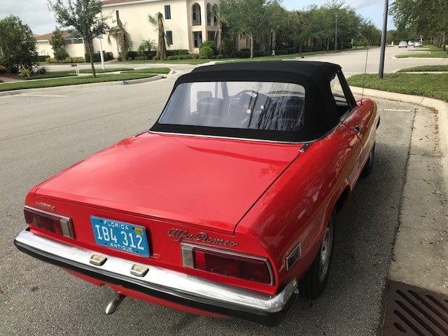 Alpha Romeo Spider on Alfa Romeo Spider 1986 For Sale