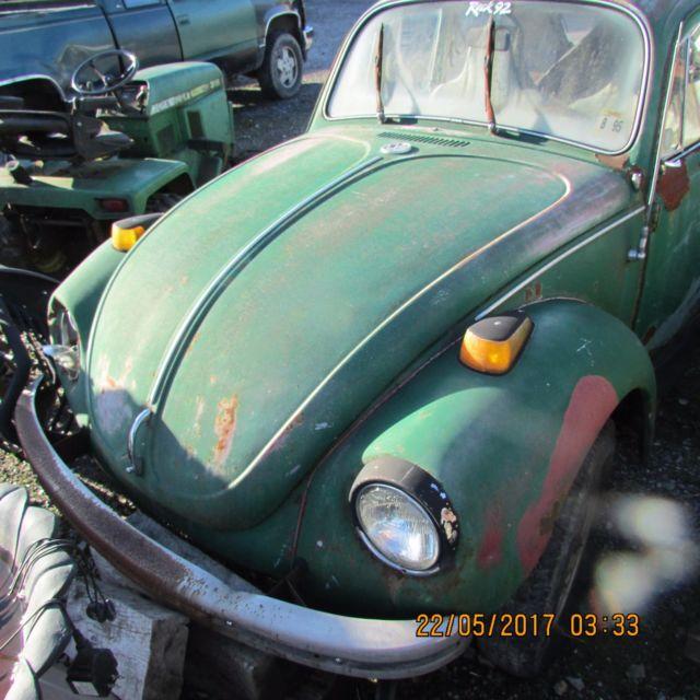1971 Beetle ( Super Bug ? ) Vw Volkswagen With Title