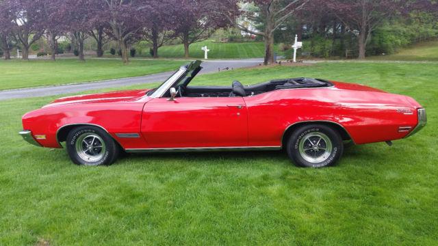 1971 Buick Skylark Custom Convertible, Chevelle, GTO, Olds Cutlass ...