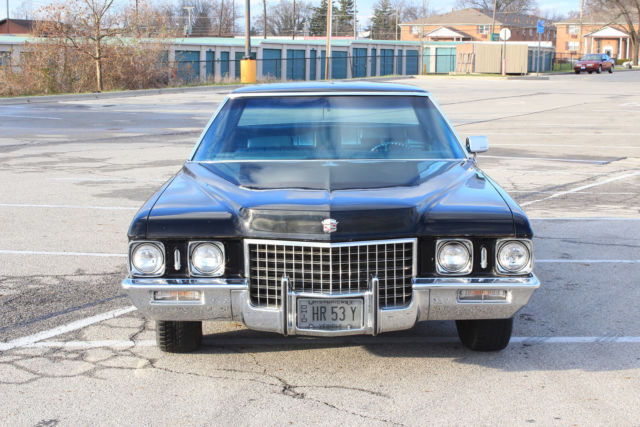 1971 Cadillac Deville Calais Sedan 17 000 Original Miles