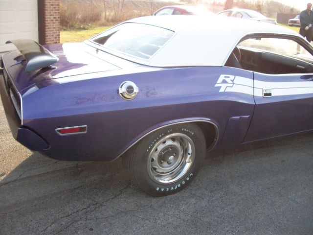 1971 Challenger RT 440 Shaker Hood Six Pack Real Deal ...