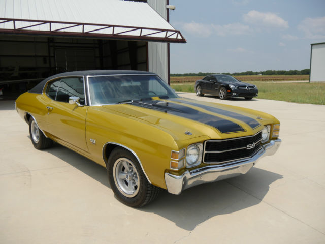 1971 Chevelle Ss 454 Documented With Build Sheet And