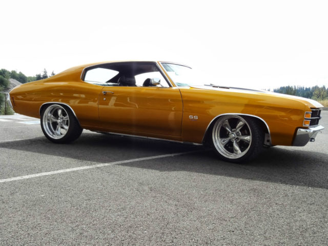 1971 Chevelle Ss 502 Efi Pro Touring Air Bagged 20 Quot Candy