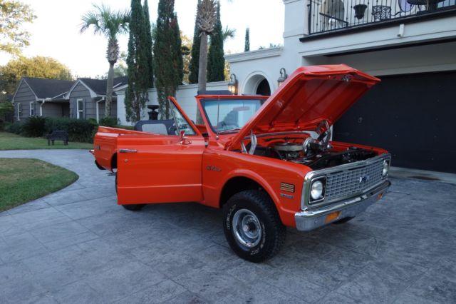 1971 Chevrolet Blazer K5 Restored 350 V8 3 On Tree