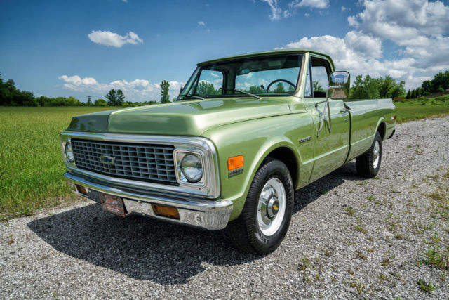 1971 chevrolet c20 longhorn edition air conditioning high optioned rare truck classic
