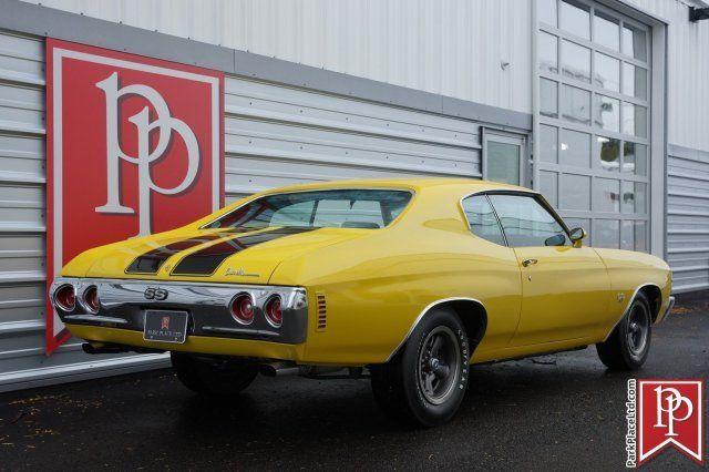 1971 Chevrolet Chevelle Ss Ls5 60 359 Miles Sunflower