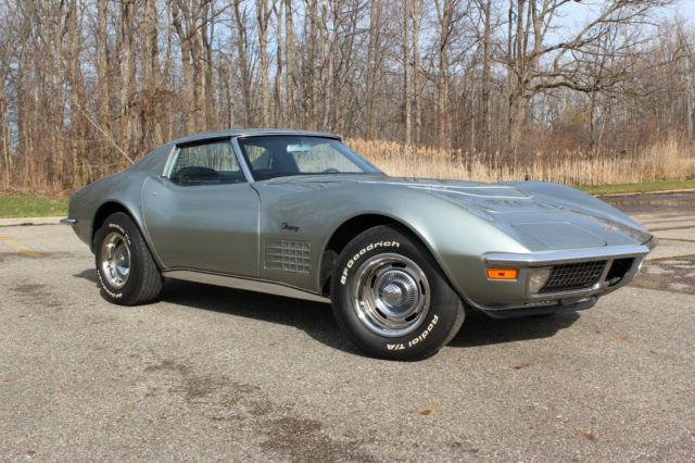 1971 Chevrolet Corvette Lt 1 Sport Coupe Classic