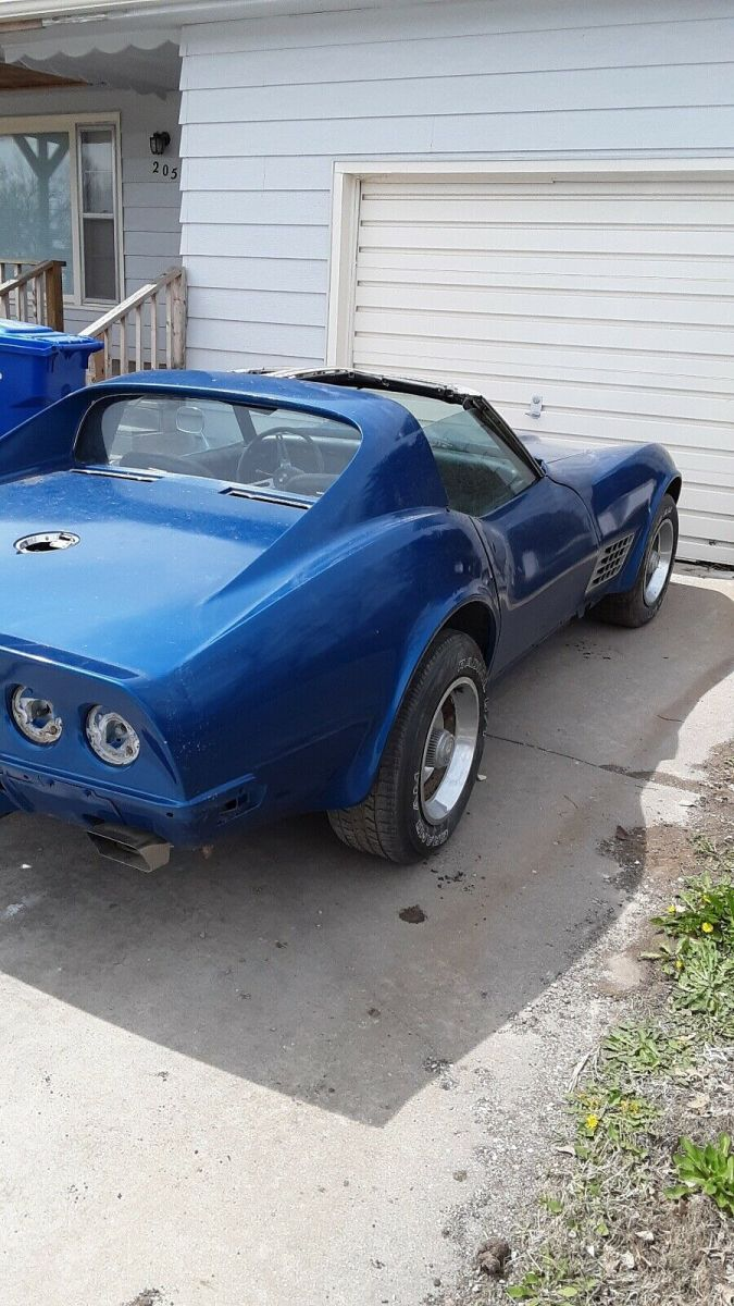 1972 Chevrolet Corvette Sportscar Blue Rwd Manual Stingray Manual Guide