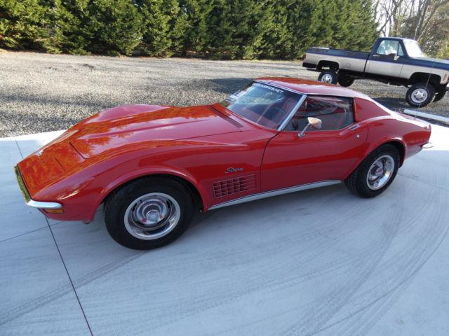 1971 Chevrolet Corvette T Tops Fully Loaded V8 Ac