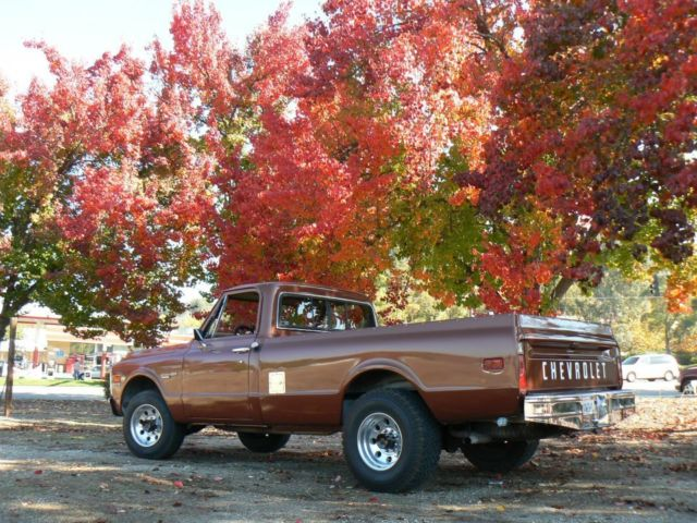 1971 CHEVROLET Custom/20 Deluxe 3/4 ton long bed truck NO ...
