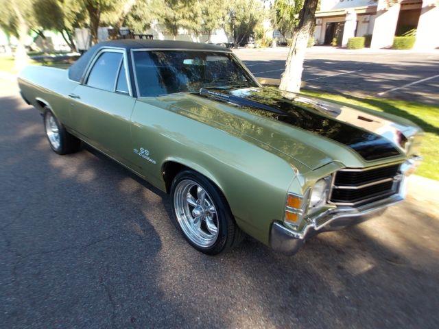1971 Chevrolet El Camino SS- 454 * NO RESERVE - Classic ...