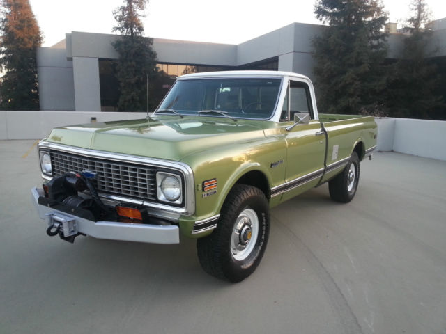 1971 chevy 3 4 ton 4 4 truck in california classic chevrolet c 10 1971 for sale. Black Bedroom Furniture Sets. Home Design Ideas