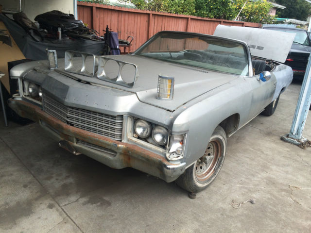 1971 chevy impala convertible donk vert classic chevrolet impala 1971 for sale. Black Bedroom Furniture Sets. Home Design Ideas