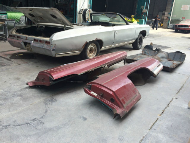 1971 Chevy Impala Convertible Donk Vert Classic