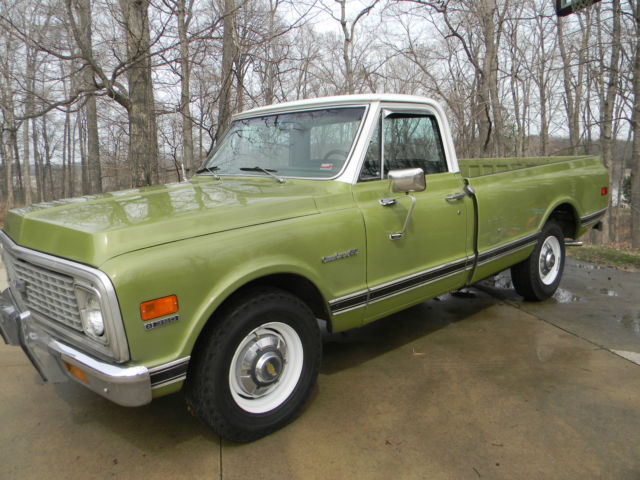 1971 Chevy Pickup Truck C 20 Custom Camper Excellent