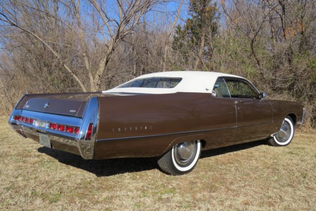 "1971 Chrysler Imperial LeBaron 2dr Coupe ""Survivor"" Only ..."