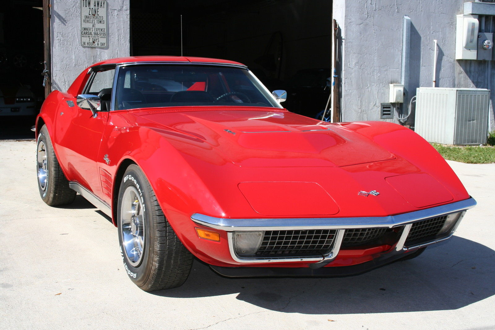 1971 corvette coupe 454  365hp matching numbers factory air